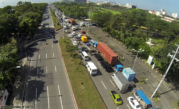 Truck ban imposed on Roxas Blvd