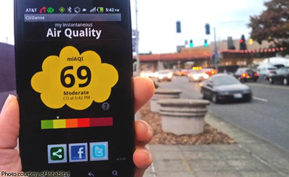 hi-tech air quality monitoring