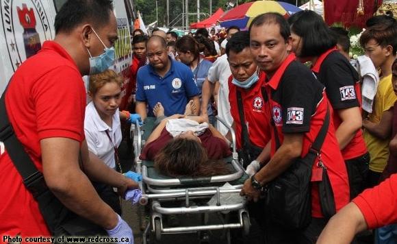 injured in Black Nazarene procession
