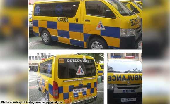 Pimp My Ride Check Out Qc S Barangay Ambulance Politiko Metro Manila