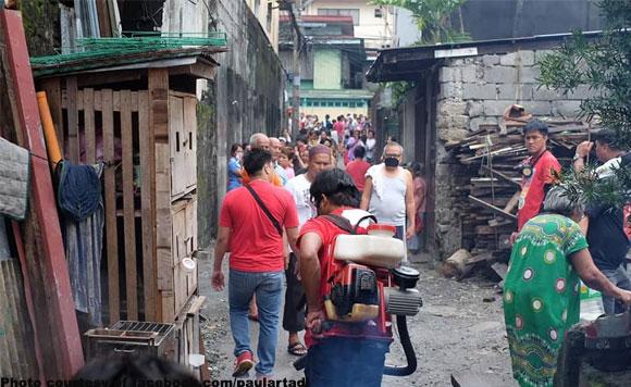 Aksyon Agad Paul Artadi Sends Misting Team To Barangay With Dengue