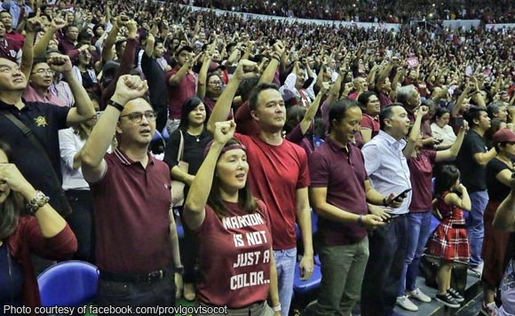 Proudly from UP! Pia Cayetano shows support for Fighting